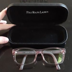 Polo Ralph Lauren Pink glasses